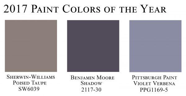 2017 colors