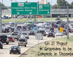 SH-121 Project in Grapevine to be Complete in December