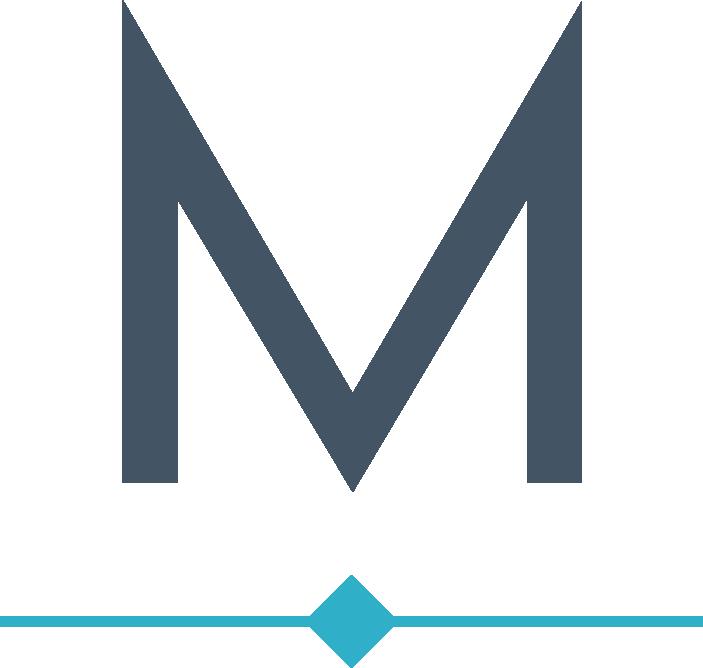 Minteer Real Estate Team Monogram Logo Minteer Real Estate Team