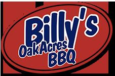 Billy's OakAkres BBQ Logo