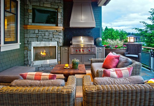 Traditional Patio Photo by Shuler Architecture