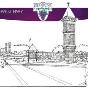 Grapevine to Develop Highway Gateway Signs