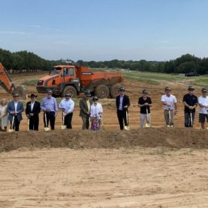 New Colleyville Subdivision Breaks Ground