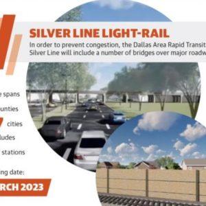 DART Silver Line Construction Begins